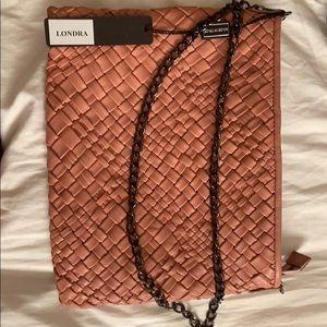 Valor braided leather bag